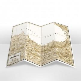 Χάρτης: Ο Διεκδικούμενος Πόντος. Σχήμα 58x86