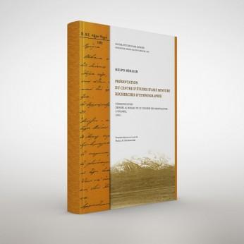 Presentation du centre d' etudes d' Asie mineure recherches d' ethnograpfie